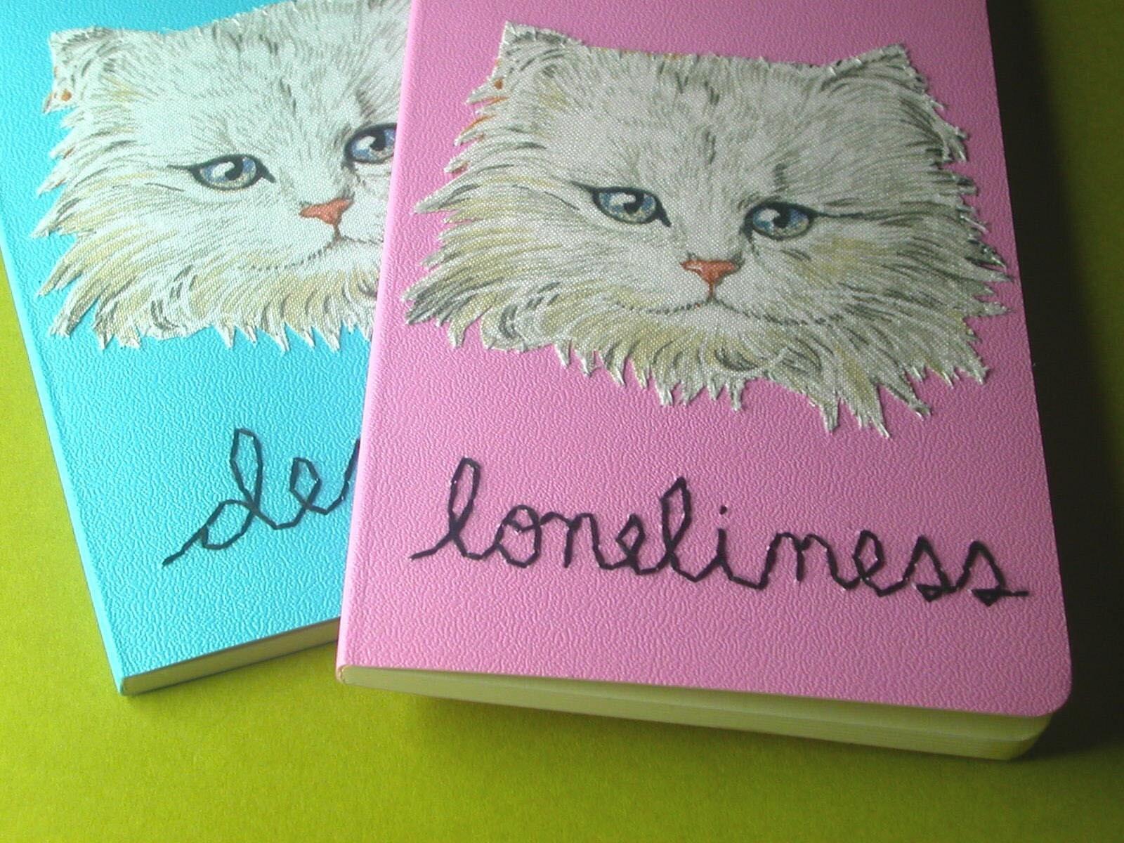Bummer Kittens set of two pocket notebooks