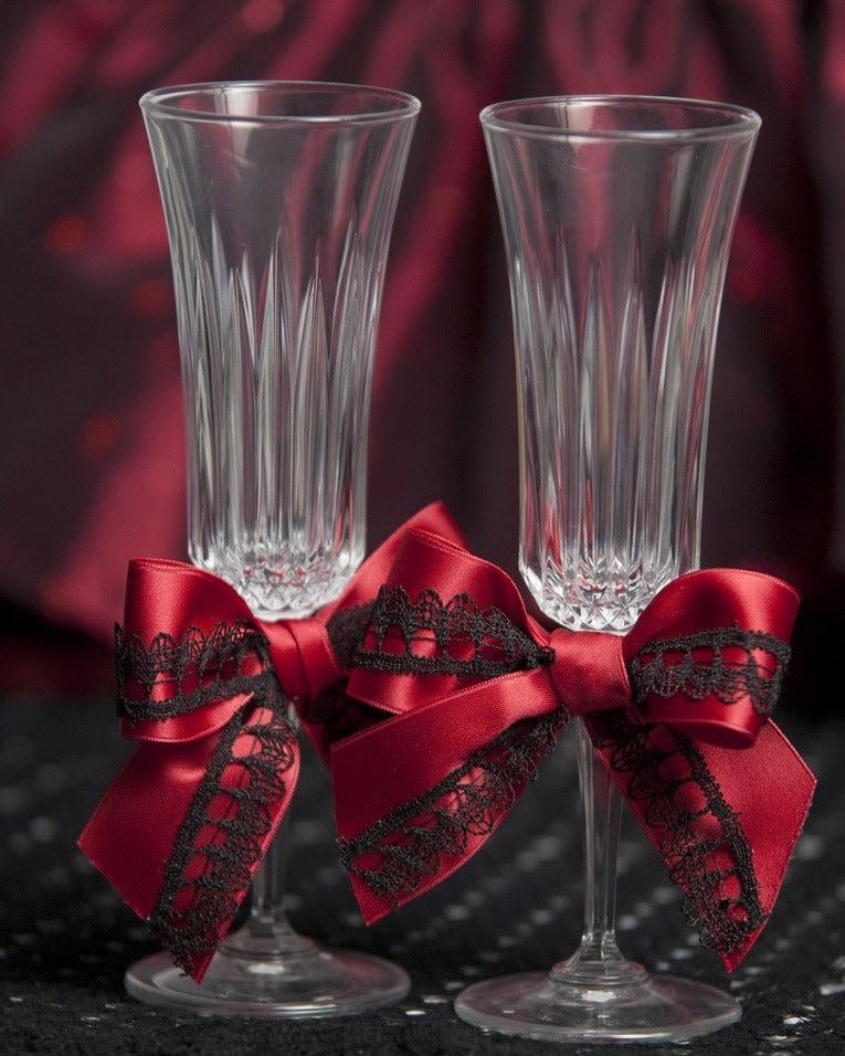 GOTHIC WEDDING GLASSES