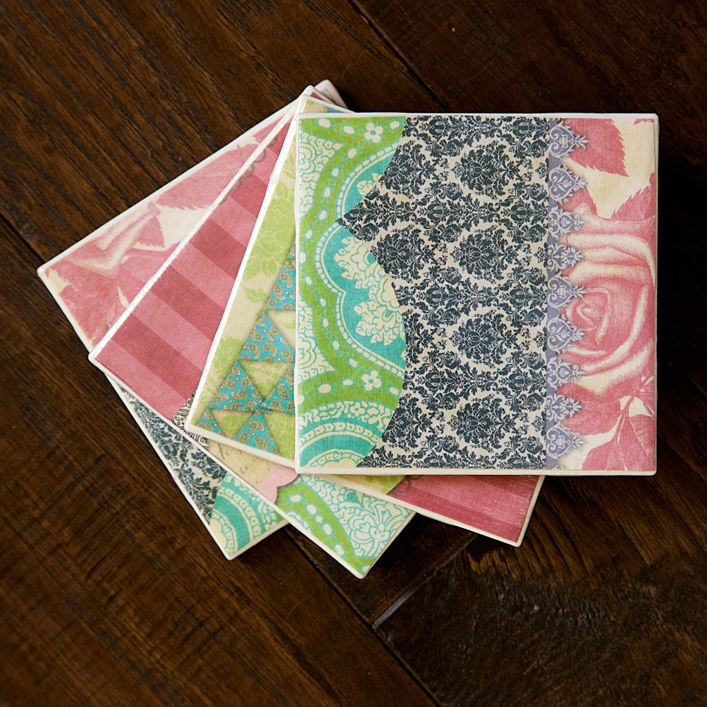 Etsy your place to buy and sell all things handmade for Handmade drink coasters