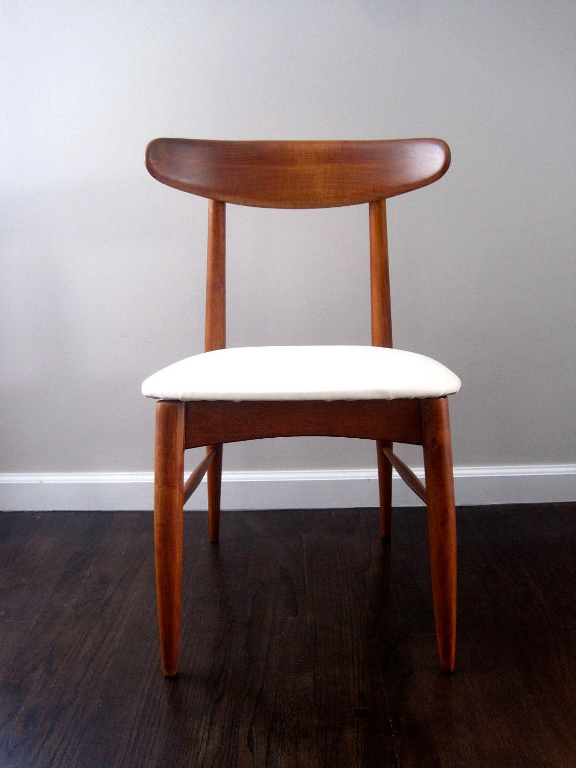 Mid Century Scandia Danish Modern Teak Chair By Rhanvintage