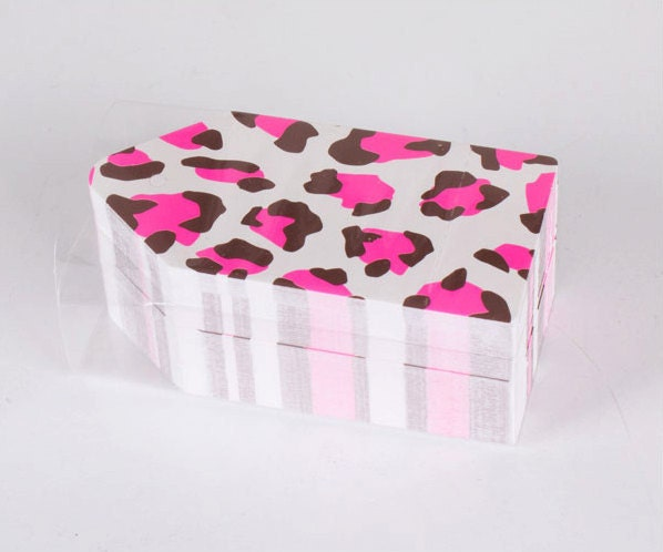 100 Price Tag Set - Leopard