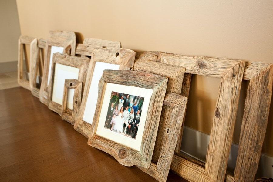Reclaimed Farm Wood Photo Frame
