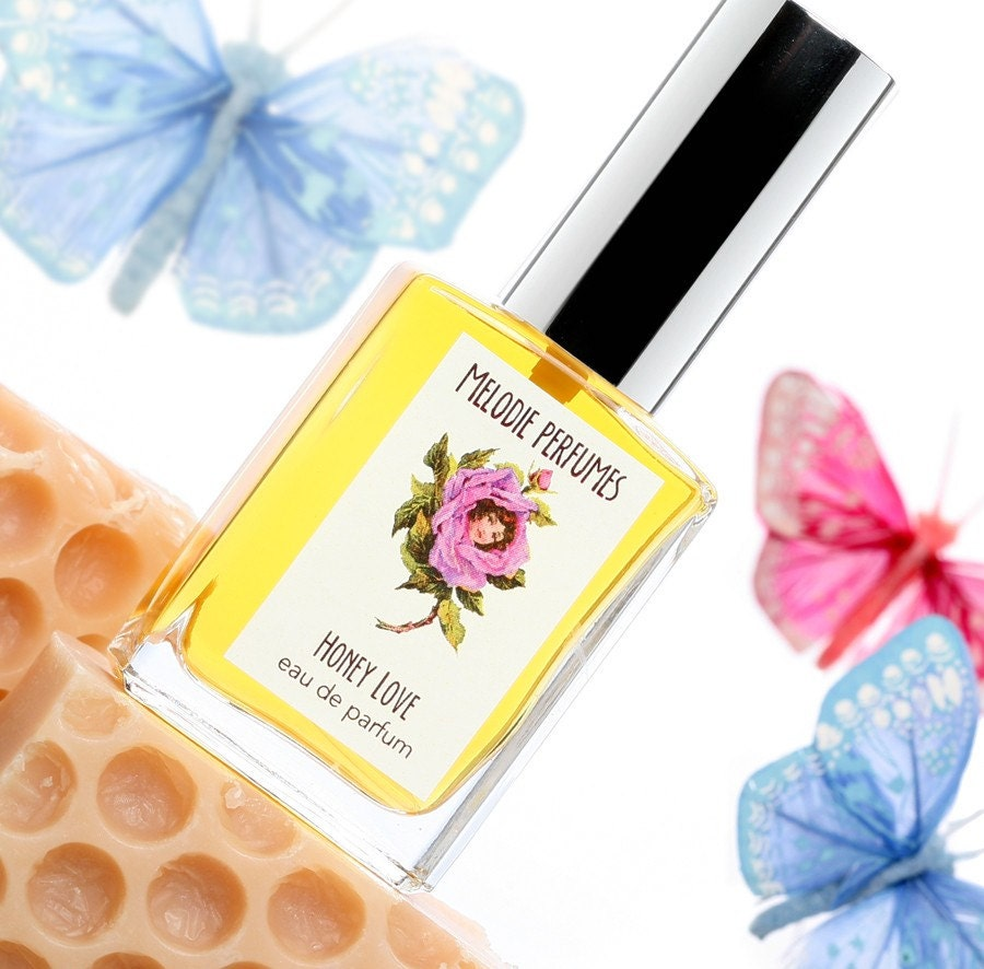 HONEY LOVE Perfume Spray Golden rich sweet by melodieperfumes from etsy.com