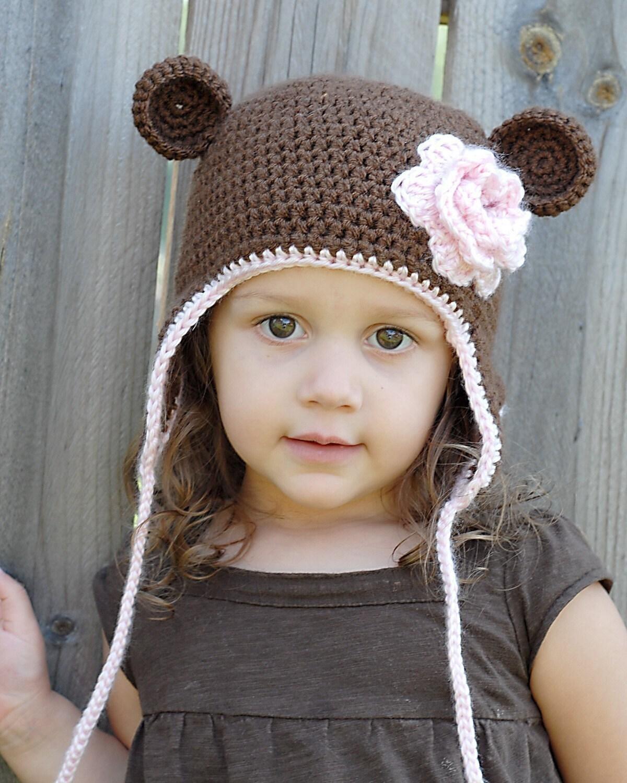 Free crochet monkey earflap hat pattern manet for earflap crochet hat free pattern free patterns bankloansurffo Images