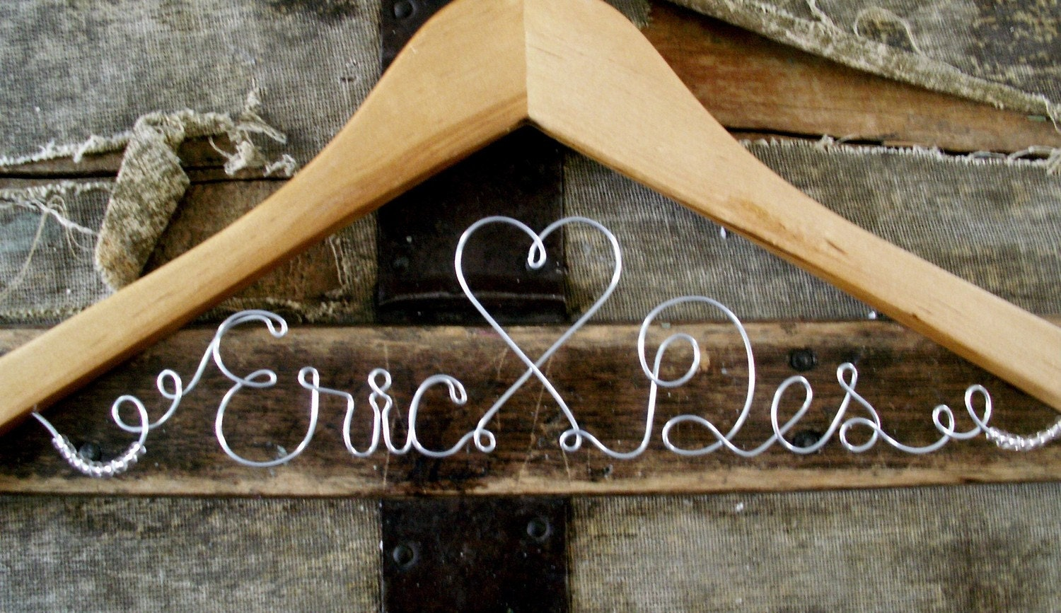 PERSONALIZED HANGER, Perfect for a Bride, Makes a lovely gift for Bridesmaids