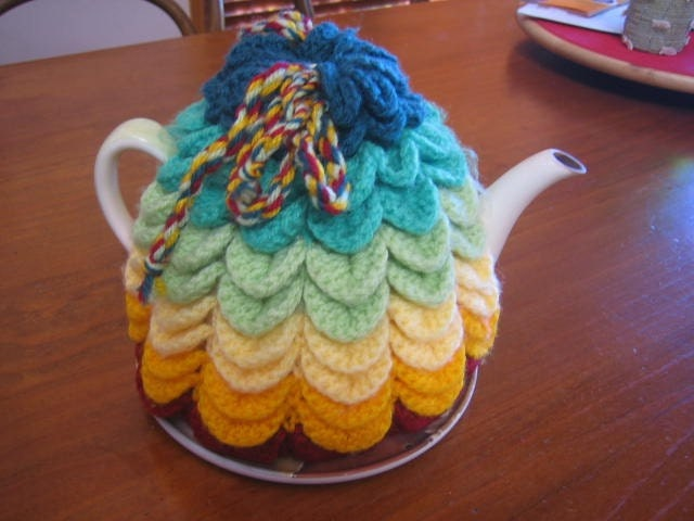 Free Crochet Pattern 50304 Crochet Kitchen Aid Ensemble : Lion