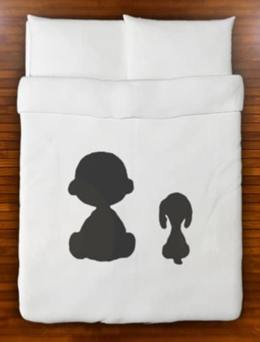 Snoopy Charlie Brown Peanuts Duvet Cover Bedding By
