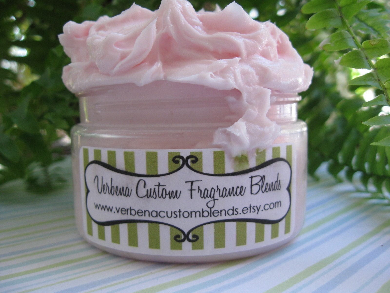 PINK SUGARED MARSHMALLOW scented WHIPPED CREAM SOAP 4 oz. -Vegan Friendly