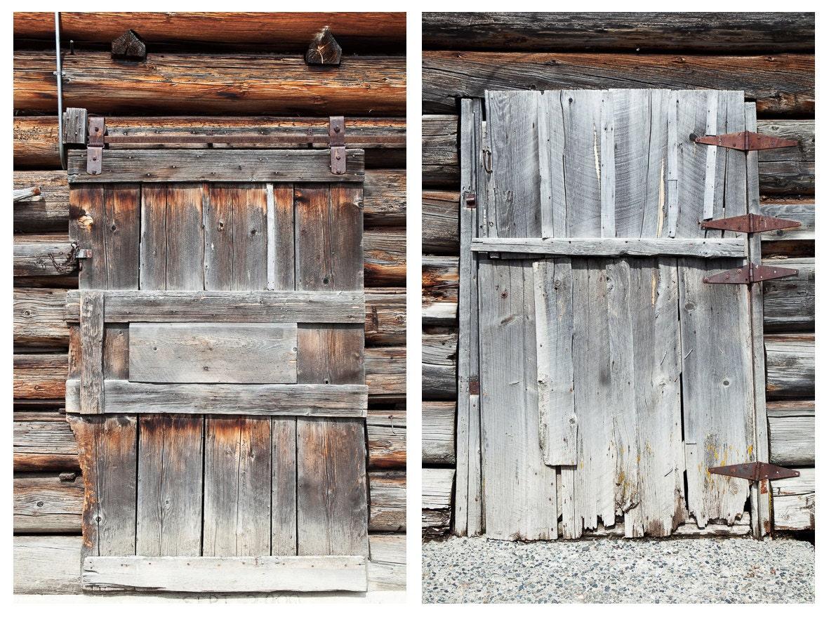 Barn door set rustic barn doors wooden doors handmade for 1800x1200 window