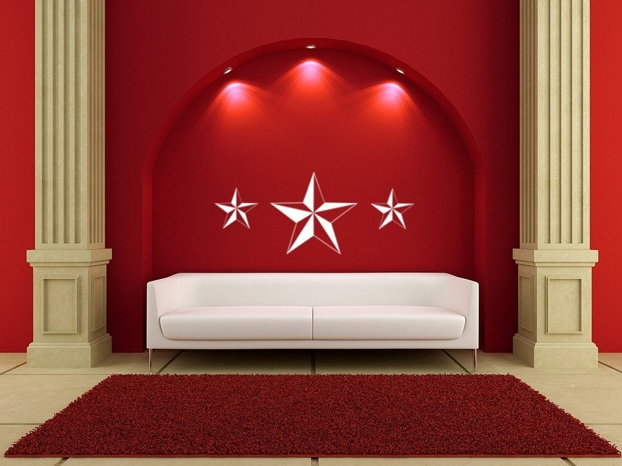وینیل دیوار هنر نقاشی دیواری ستاره دریایی برای خوابگاه صفحه اصلی دفتر