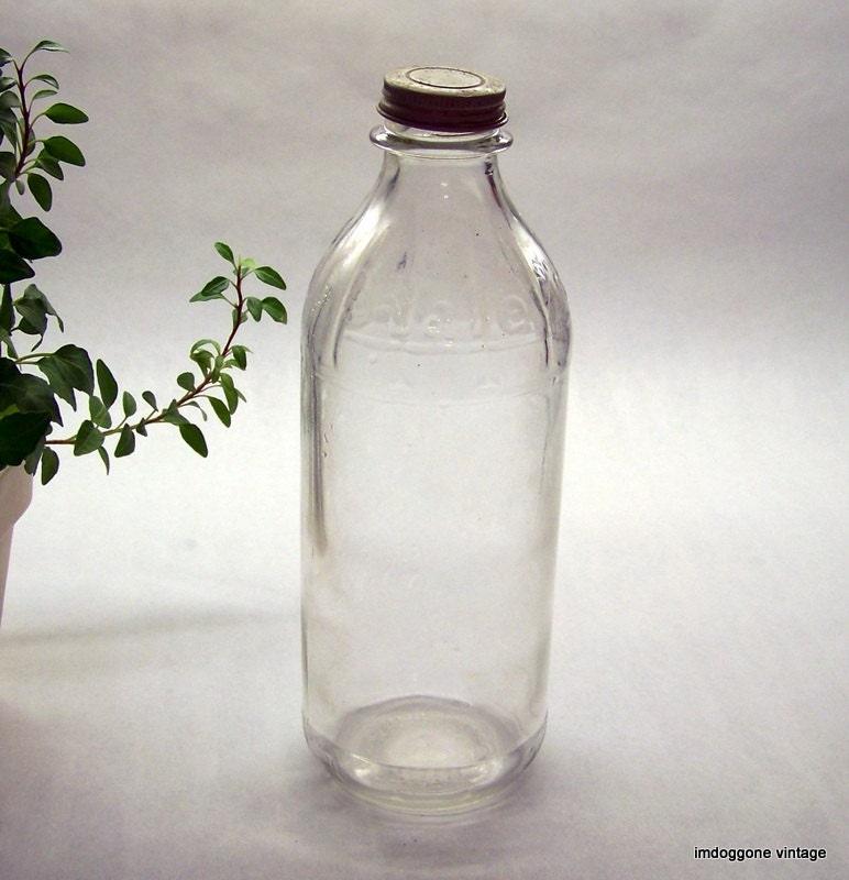 Staley s milk bottle vintage flowers weddings by