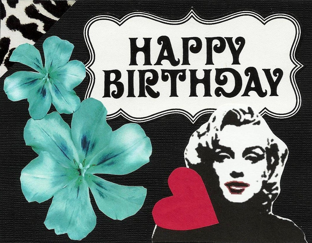Marilyn Monroe Birthday Cards