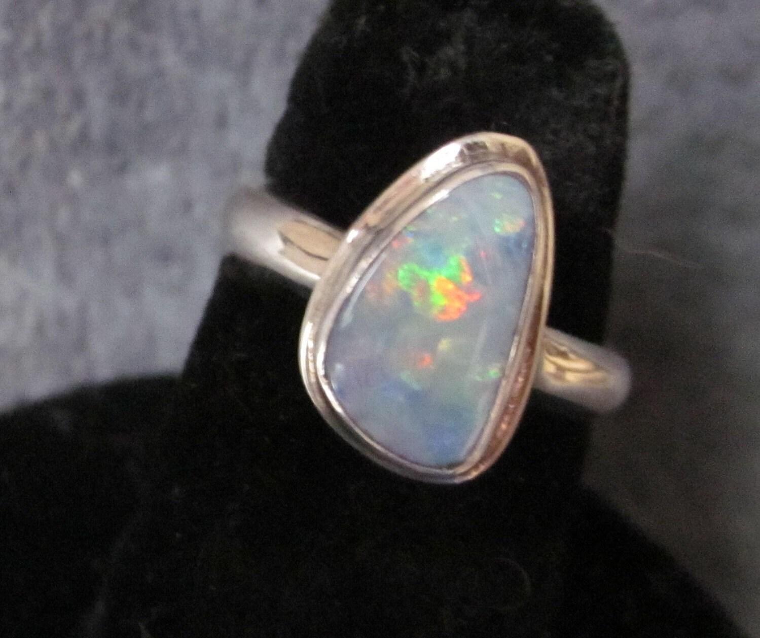 Australian Opal Ring  049