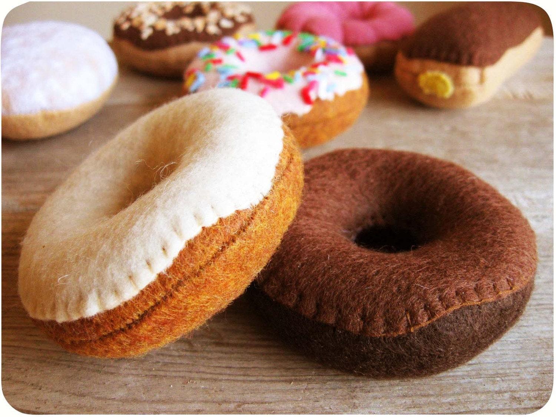 Ваниль и шоколад глазированные Donut