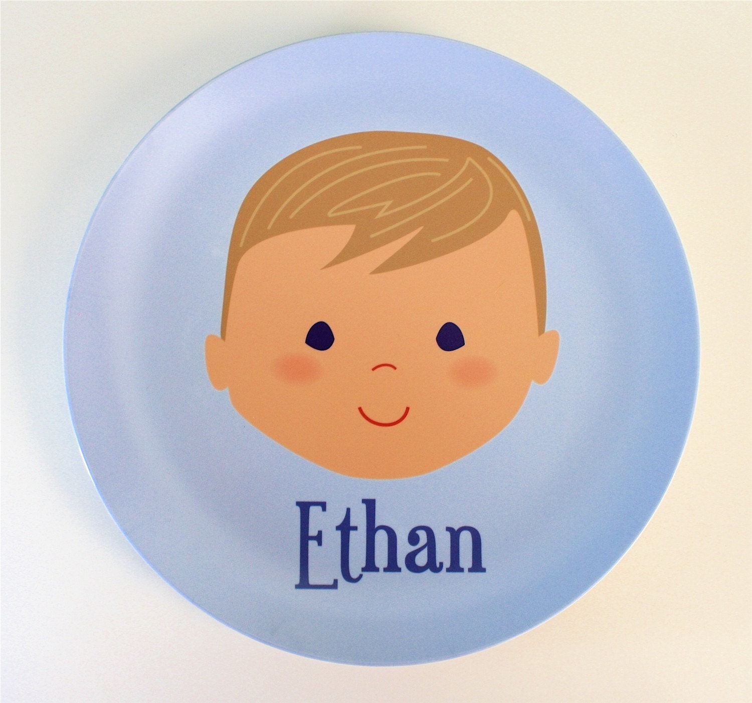 Custom Personalized Plate  - Girl or Boy