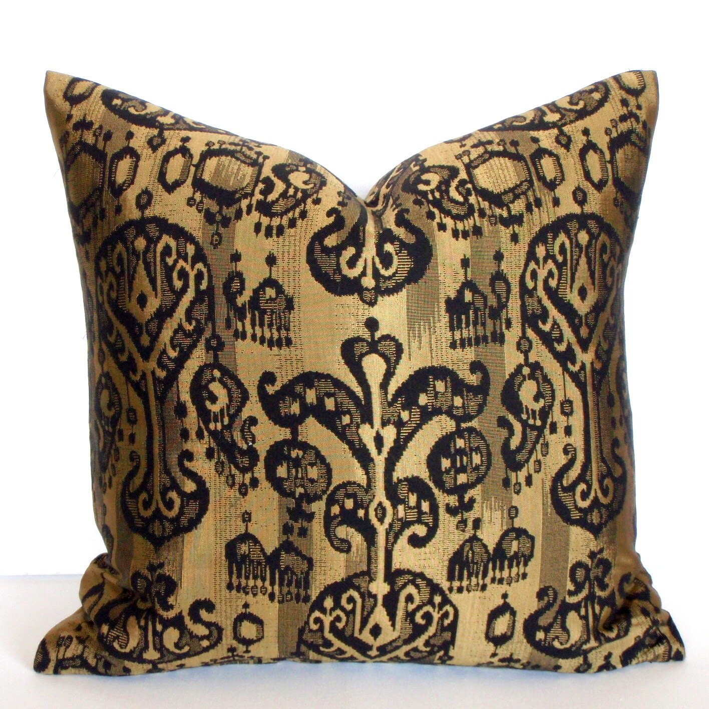 Decorative Pillows Black And Gold : Unavailable Listing on Etsy