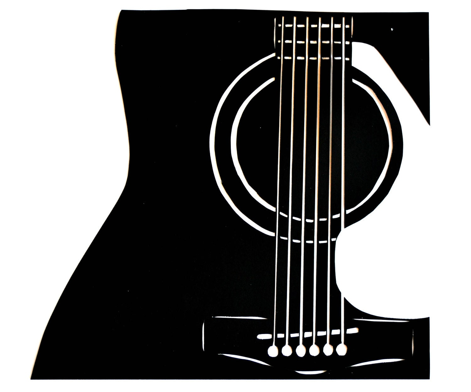 etsy your place to buy and sell all things handmade acoustic guitar clipart bing free acoustic guitar clip art logos