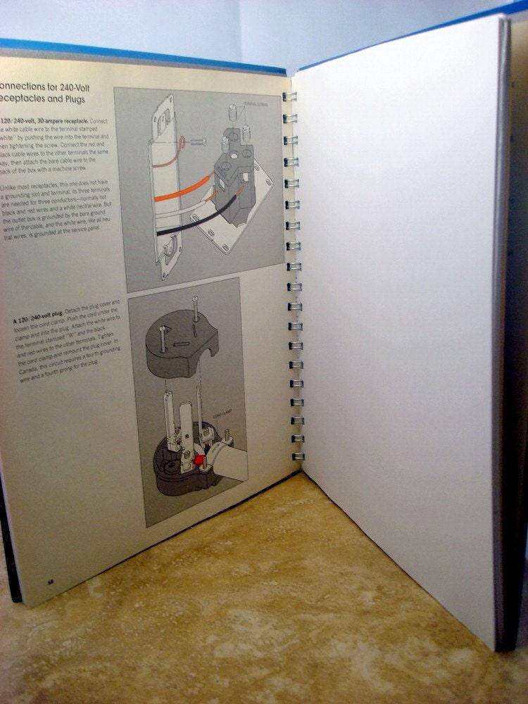 Recycled Handmade Journal - Basic Wiring