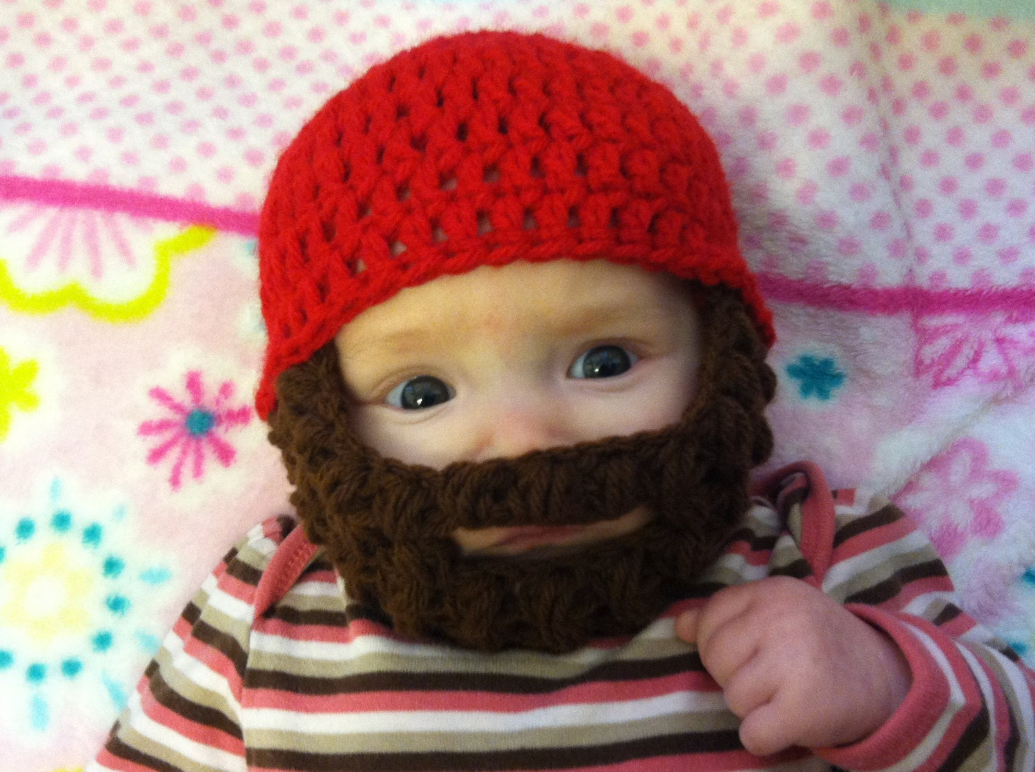 Beard Hat Beanie Custom Made Order Withlovebycole