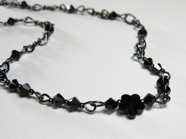 Swarovski Black Choker Necklace