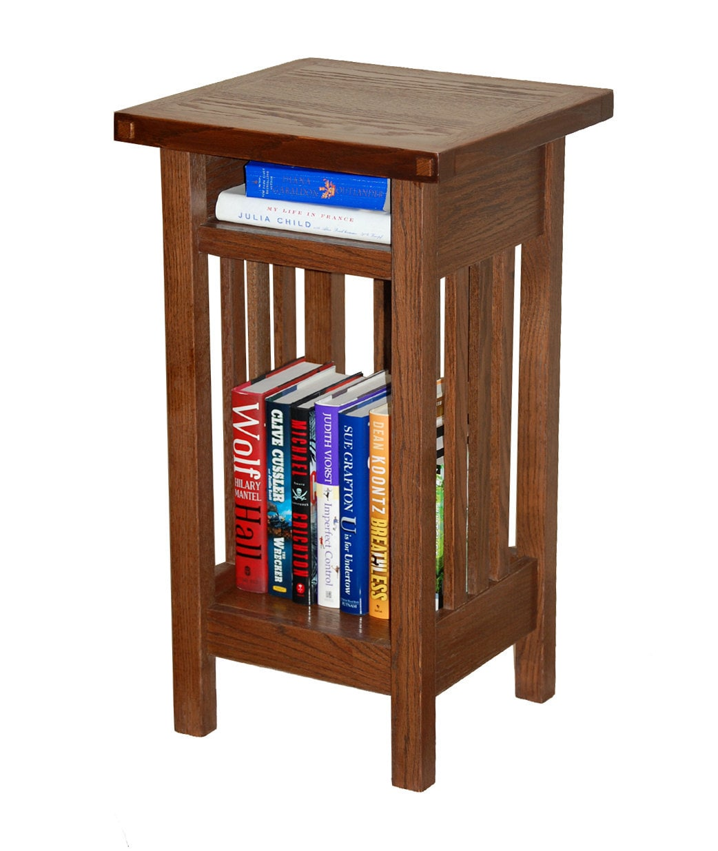 Arts and crafts inspired side table with by rmccustomwoodworks for Arts and crafts side table