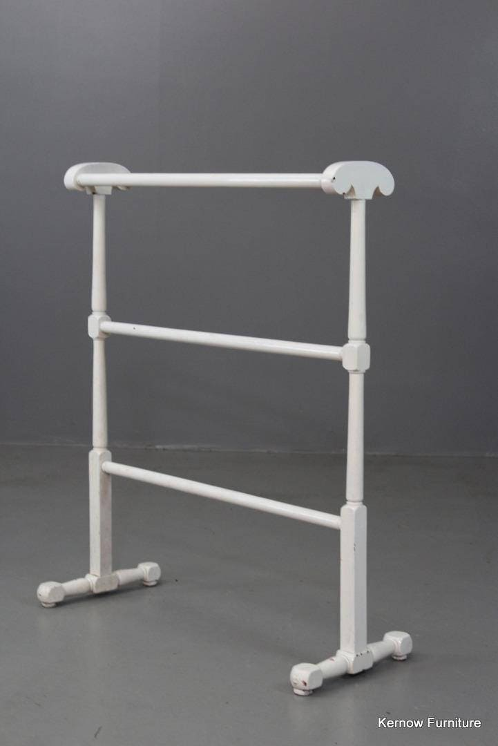 Antique White Towel Rail