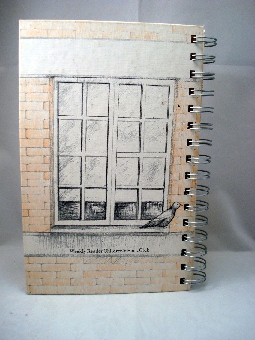 Recycled Handmade Journal - Busybody Nora