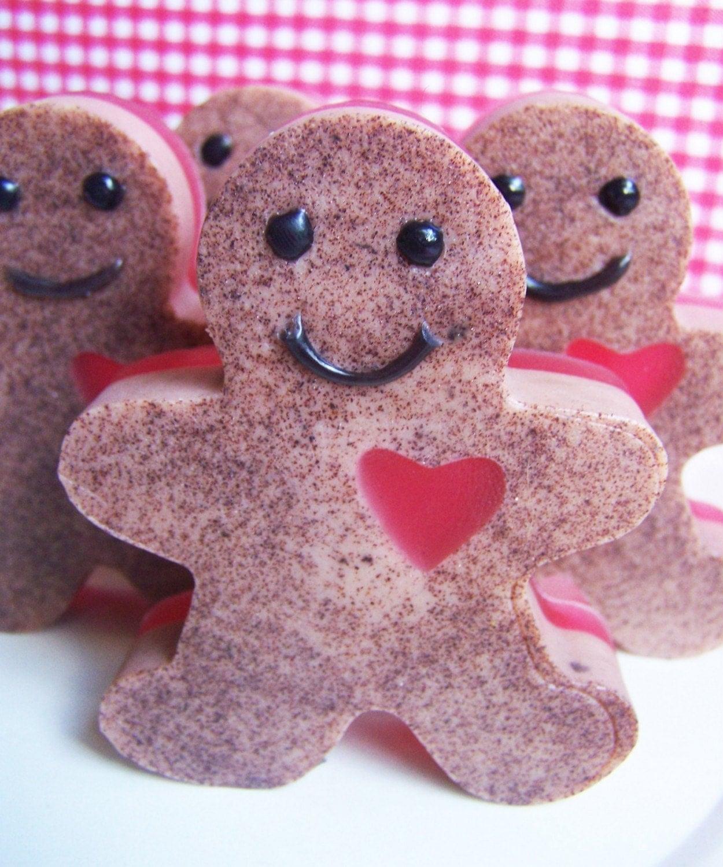 Cinnamon Gingerbread Man Soap