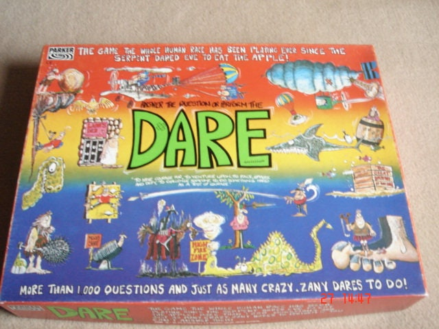 Dare Parker Brothers classic Truth or Dare emmense fun