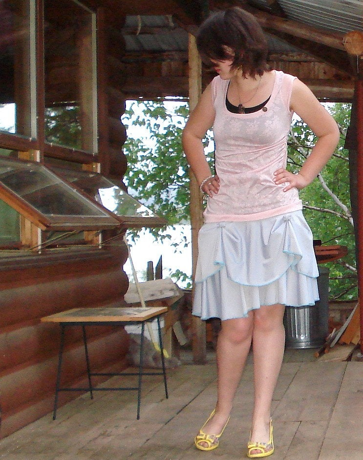 SALE // Silver Dancing Skirt // Small