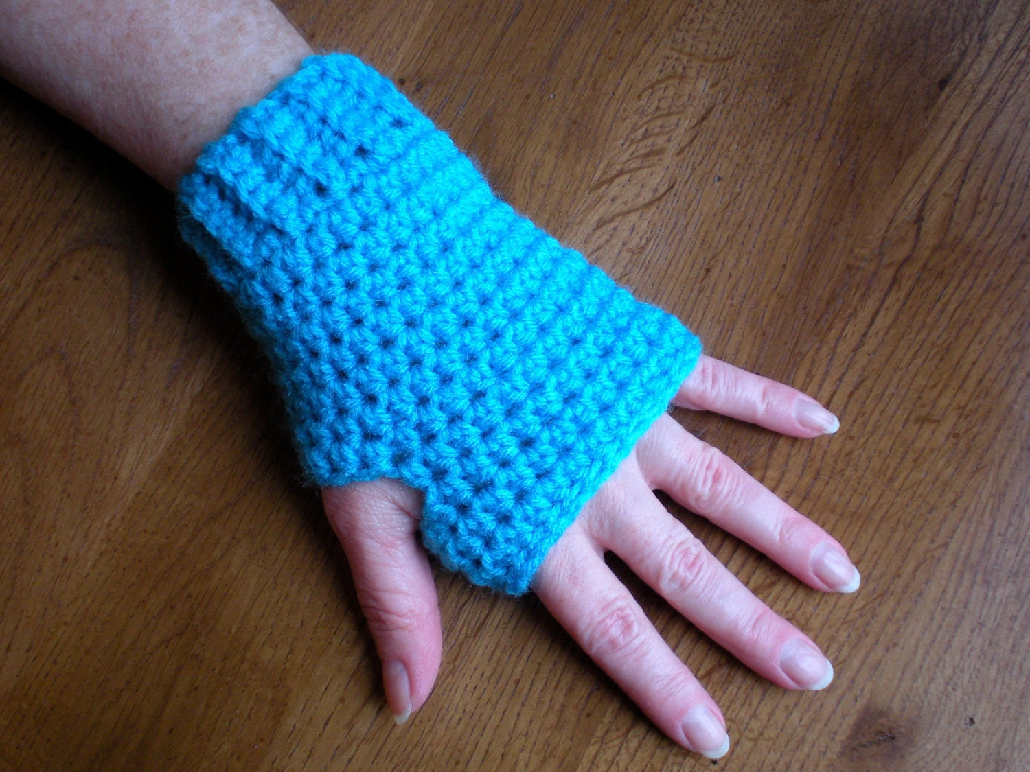 PATTERN: Simple n Easy Fingerless Gloves easy by swellamy
