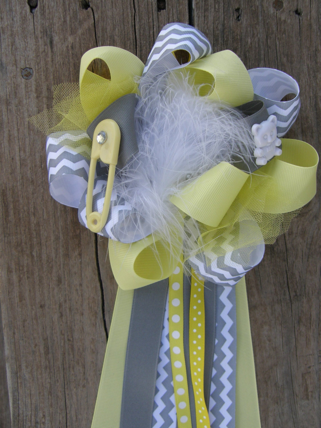 baby shower mum corsages