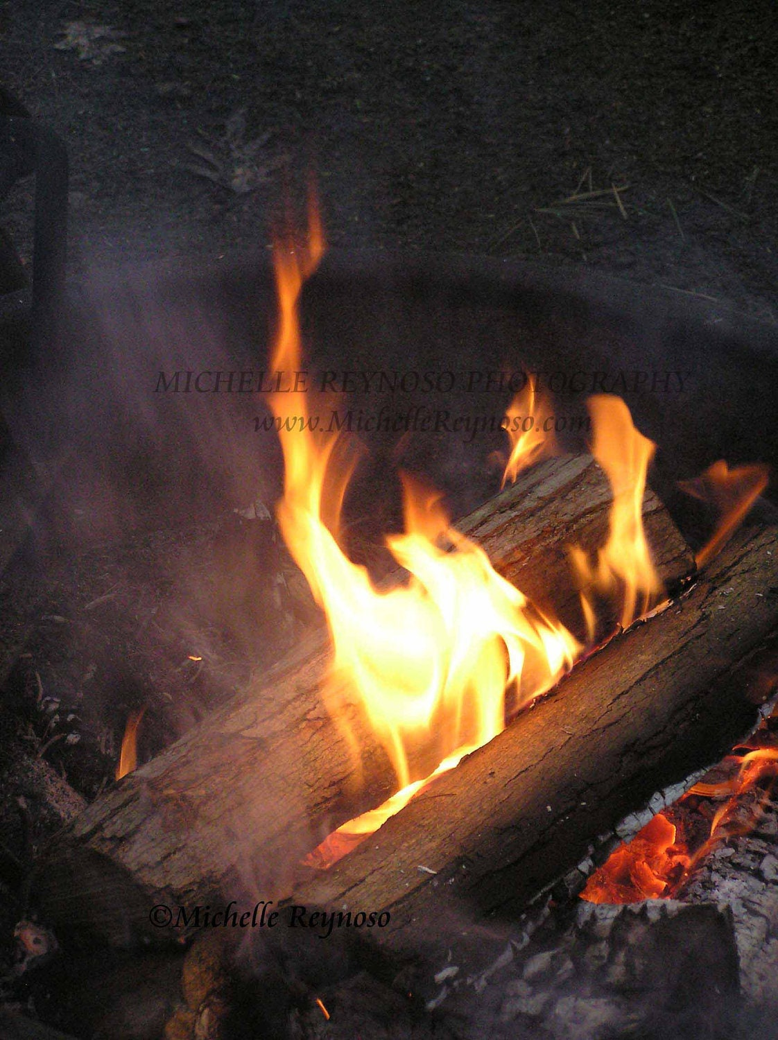 Camp Fire - 8 X 10 Fine Art Photograph