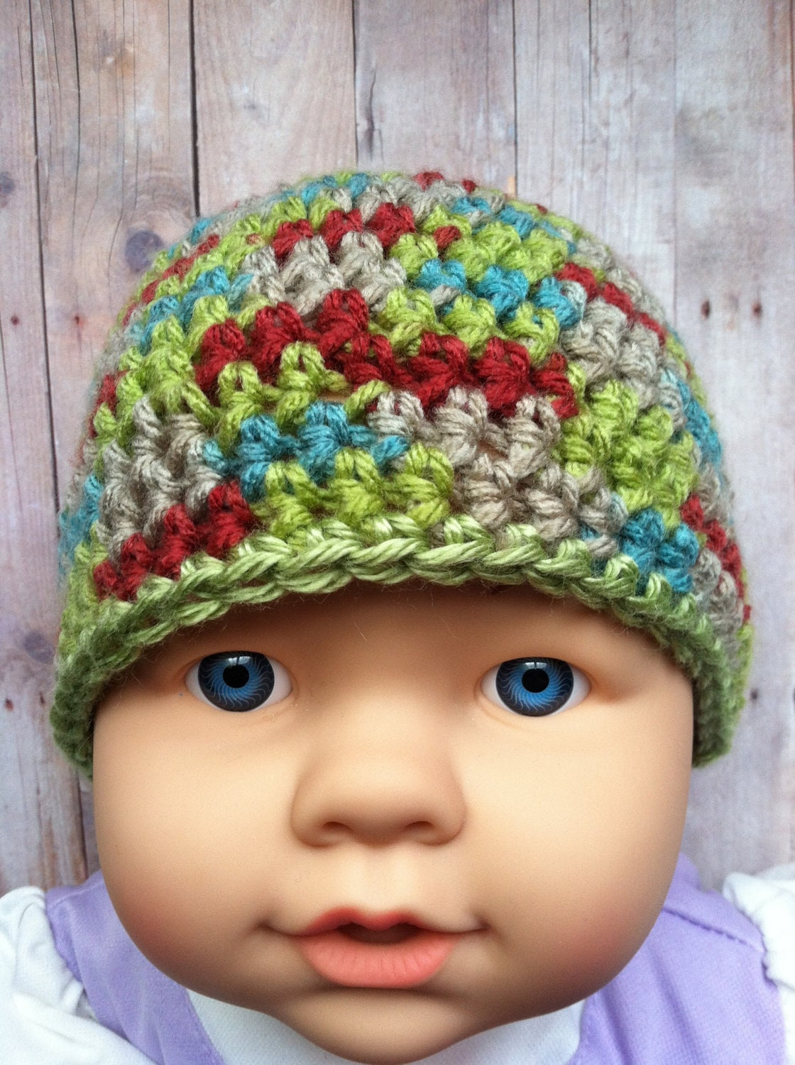 items similar to cool crochet baby boy beanie hat on etsy