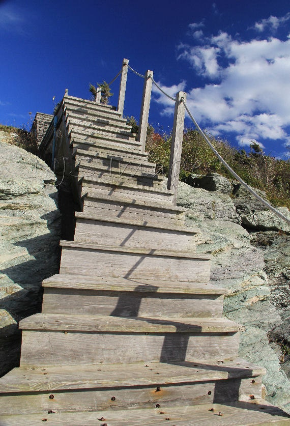 Stairway to Heaven. Rustic Beach Landscape Photography. Beach Cottage Home Decor. Studio Wall art. - NJSimages