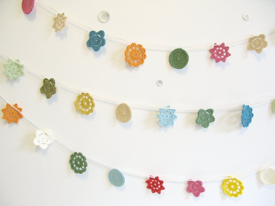 forever flower garland - choose your own colours...