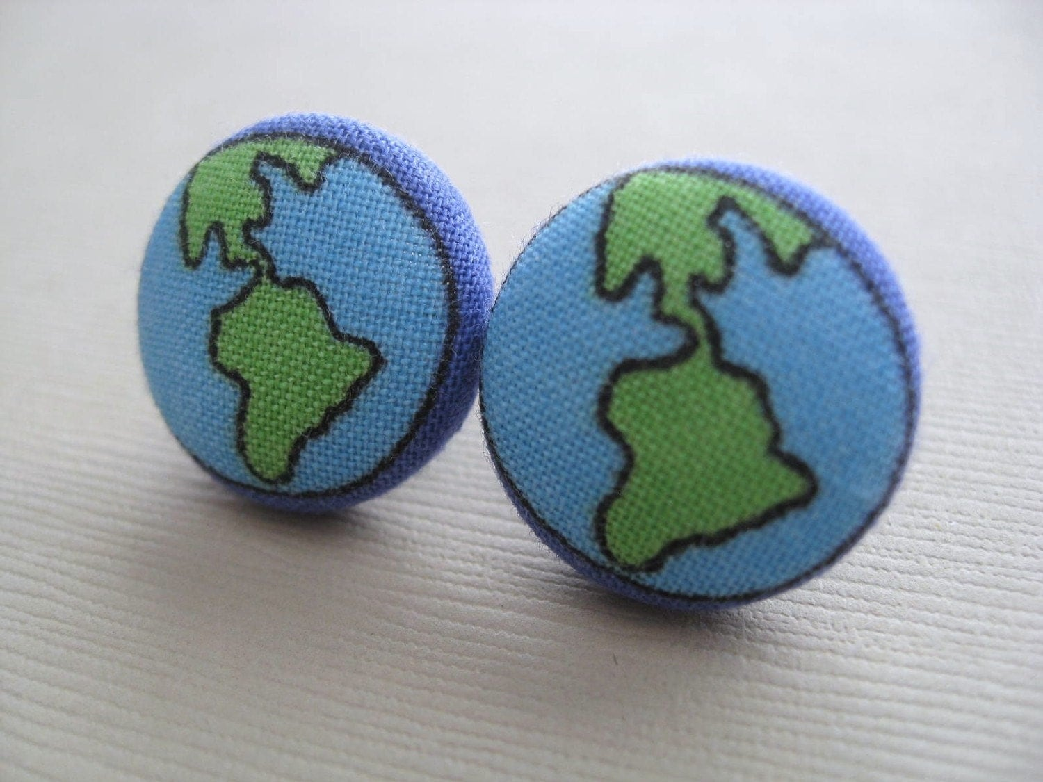 Items similar to new our precious planet earth fabric for Fabric planet