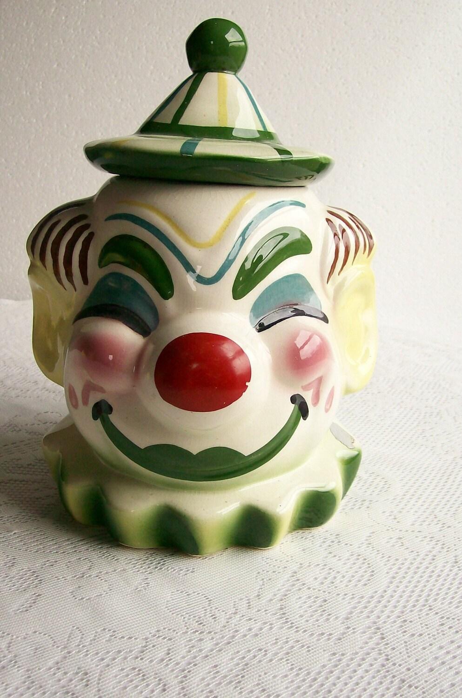 Cookie Jar Clown Sierra Vista Starnes By Aletafordbakerdesign