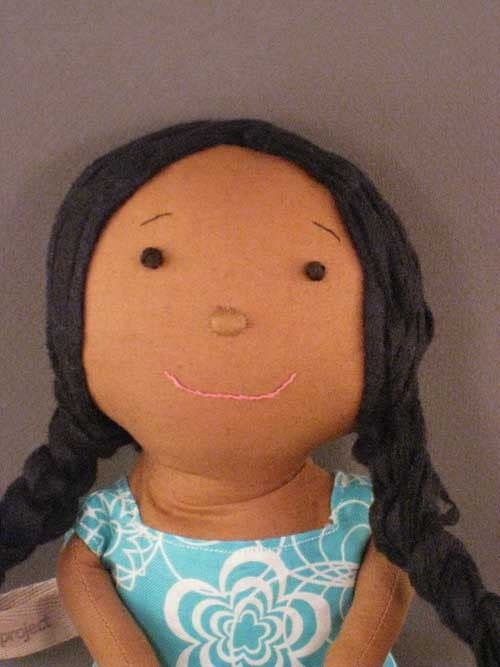 Olivia, An African American, Biracial, Multiethnic Doll