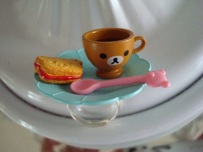 Blue Teddy Bear Tea Party Ring