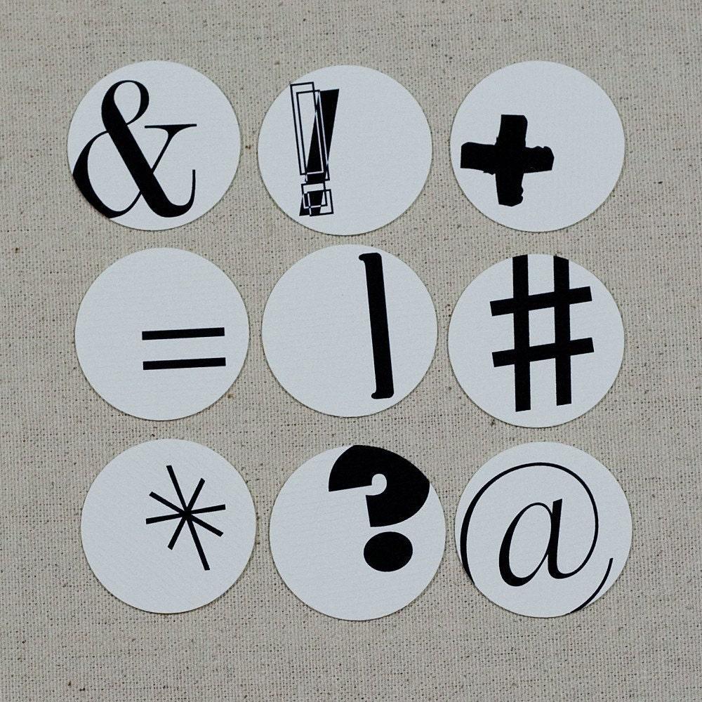 Random Symbol Tags