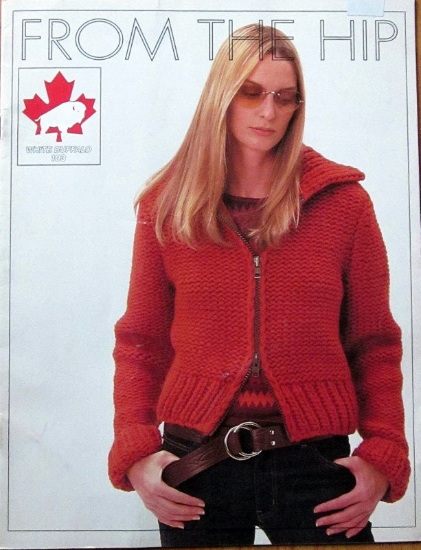 Bulky Sweater Knitting Patterns : OUTDOOR SWEATER knitting pattern for bulky wool by raincoaststudio