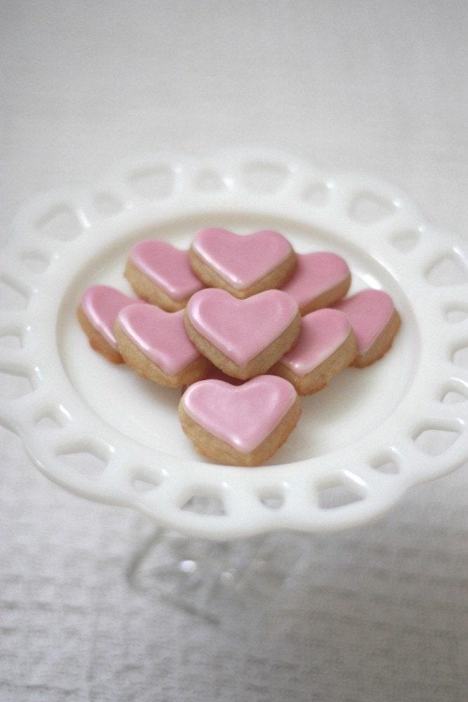 Valentine's Day Mini Heart Sugar Cookies - One Dozen