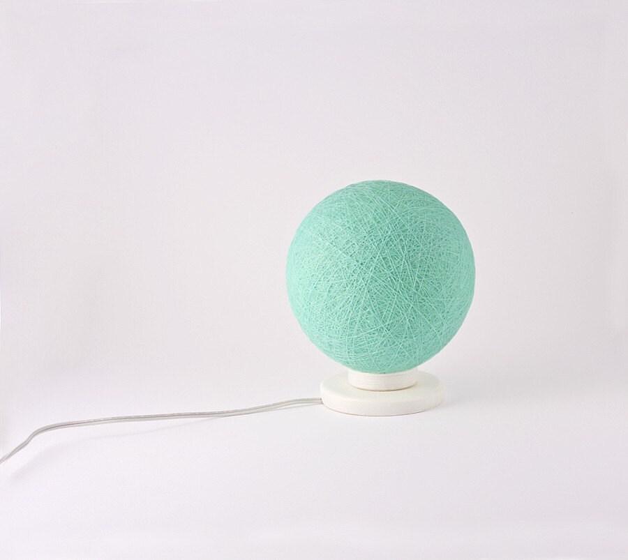 Настольная лампа, акцент лампа, ночник, Современный дизайн интерьера акцент мятой по FiligreeCreations на Etsy