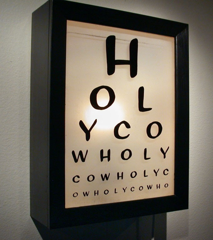 Wholy - Illuminated Eye Chart