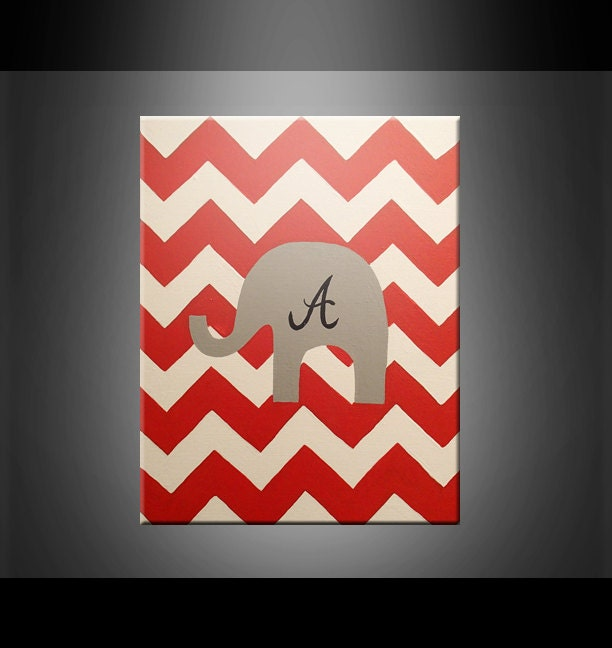 Unavailable listing on etsy for Alabama football wall mural