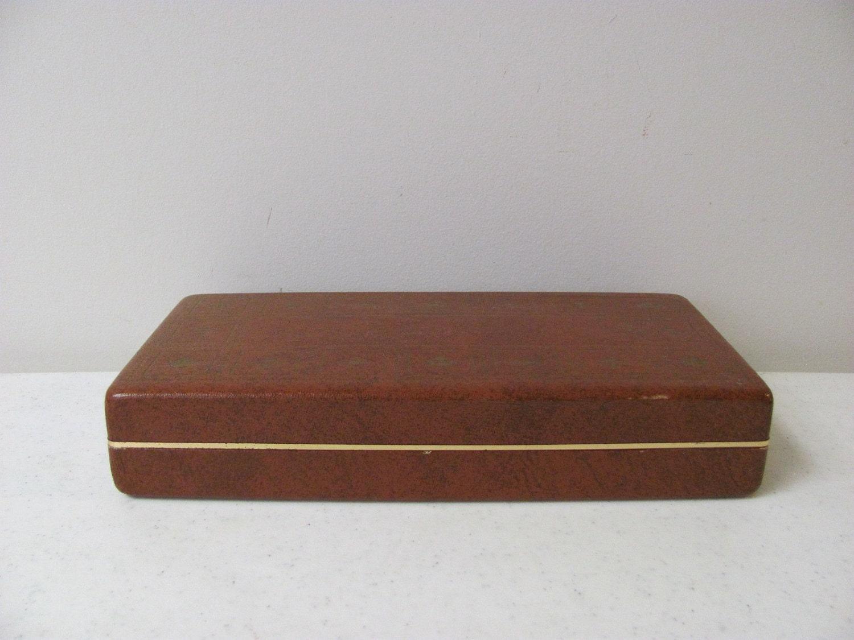 Vintage Shields Mens Jewelry Box Valet Box By Daveysvintage