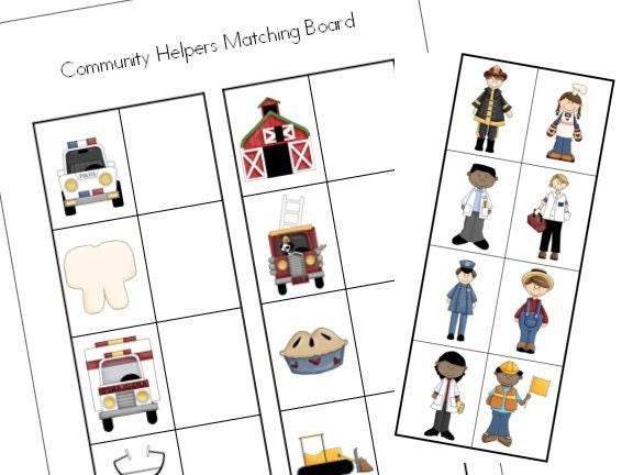 Community Helpers Kindergarten Worksheets – Community Helpers Worksheets Kindergarten