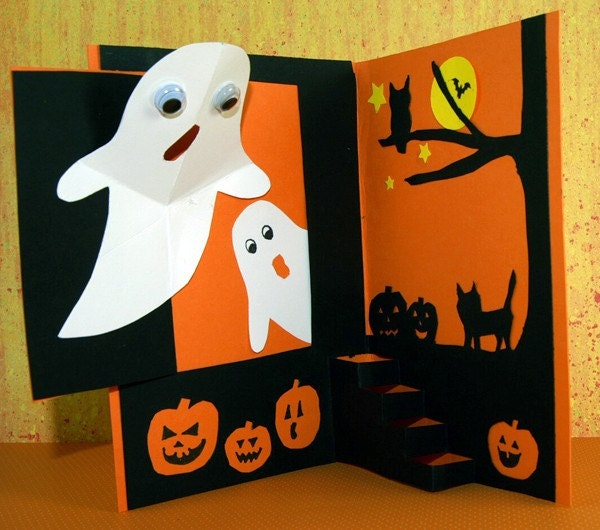 Halloween Surprise Pop up Card