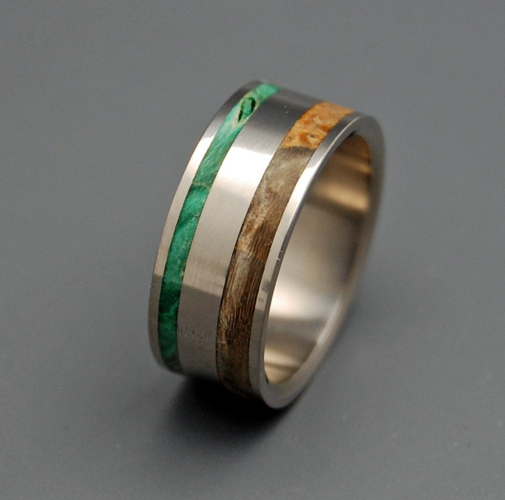 items similar to eternal wooden wedding rings on etsy